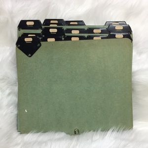Other - Mid century Vintage 1960s/1970s File Folders